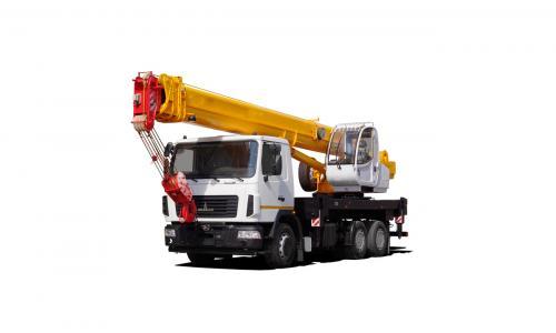 Автокран КС-45717А-1Р на шасси МАЗ 6312 (25 тонн)